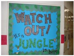 Clutter-Free Classroom: Jungle Safari Classroom Theme {2012 Edition}