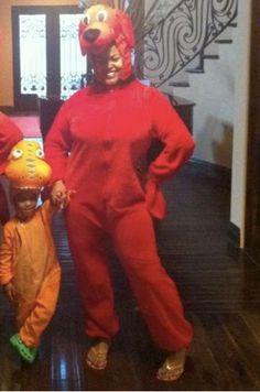 Jill Scott and her son!
