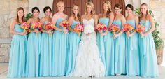sky+blue+long+chiffon+bridesmaid+dresses.jpg (620×299)