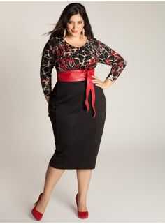 Plus size clothing for full figured women. We carry young and trendy, figure flattering clothes for plus size fashion forward women. Curvalicious Clothes has the latest styles in plus sizes Image Fashion, Look Fashion, Womens Fashion, Fashion Clothes, Plus Size Sweater Dress, Plus Size Sweaters, Plus Size Dresses, Plus Size Outfits, Dresses For Work