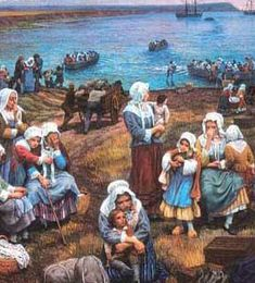28 juillet 1755: Le Grand Dérangement des Acadiens Historical Art, Historical Costume, Acadie, Louisiana Art, Family Research, Canadian History, Family Roots, Canada, Military Art