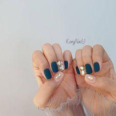 Manicure And Pedicure, Gel Nails, Cute Nails, Pretty Nails, Korean Nails, Nail Pictures, Trendy Nail Art, Nail Art Hacks, Nail Arts