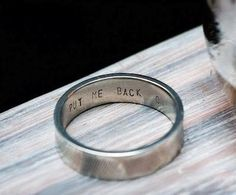 Between the two of you, you'll have three rings to work with, after all. | 25 Ways To Make Your Wedding Funnier