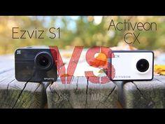 Ezviz S1 vs Activeon CX - Comparativa video action cam