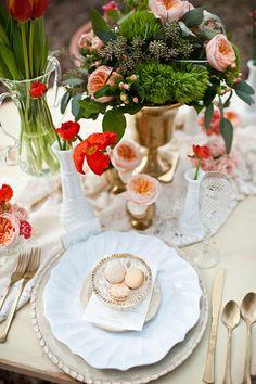 Cómo Decorar la Mesa en tu boda