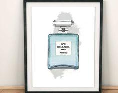Coco Chanel Logo Chanel home room decor Coco chanel by GrafikShop