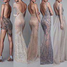 Signature Berta backs, the evening line Pretty Dresses, Sexy Dresses, Fashion Dresses, Event Dresses, Formal Dresses, Frack, Classy Dress, Couture Dresses, Nikkah Dress