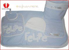 #felipe #ajuarnene #mantita #gorrito #babero #babita #personalizado #blanket #bib #burpcloth