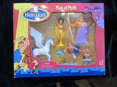 Vintage Disney's Hercules Man of Myth set of 5 Action