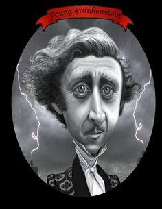 Gene Wilder (by tobo) (Caricature) http://dunway.us