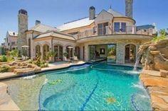 Swim through mansion