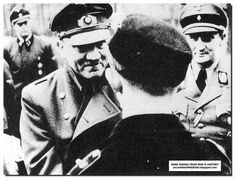 The last official photograph of Hitler