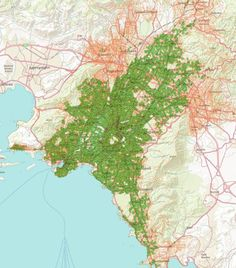Analisi di GeoMarketing per un gestore di Telefonia in Grecia, Atene, 2003 - Alberto Antinori
