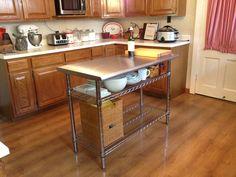 kitchen prep tables on pinterest butcher block kitchen kitchen prep
