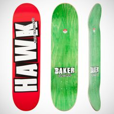 "Baker Riley Hawk Logo - 8.475""   #skateboarding #skateboard #deck"