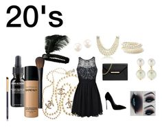 """""""20's"""" by camillastefan1 on Polyvore featuring moda, Chanel, Ally Fashion, Casadei, MICHAEL Michael Kors, Bling Jewelry, Forever 21, Kenneth Jay Lane, Bare Escentuals e NARS Cosmetics"""