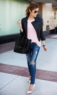 Pastel and black