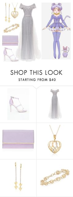 """""""Pretty Soldier Sailor Moon Formal: Diana"""" by becka-ramey on Polyvore featuring Missguided, Marchesa, Henri Bendel and Ross-Simons"""