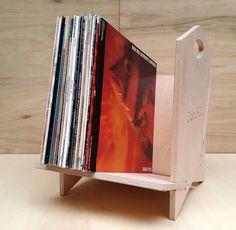 Vinyl 12  LP Modular Record Storage Shelf Stackable