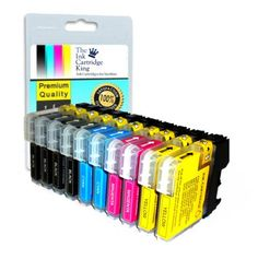 10 compatible ink cartridges for Brother printers DCP-145C, DCP-165C, LC1100, LC980 - ***2 FULL SETs + 2 EXTRA BLACK***10 CARTS IN TOTAL 10 brand new individually sealed COMPATIBLE ink cartridges for BROTHER PRINTERS:- DCP 145C 165C 385CN 535CN 585CW 6690CN 6690CW MFC 290C 490CN 490CW 670CD 670CDW 790CW 930CDN 930CDWN 5490CN 6490CN Pack contains the following compatible... - http://ink-cartridges-ireland.com/10-compatible-ink-cartridges-for-brother-printers-dcp-145c-dcp-165c-