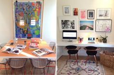 Home Offices from Taylor Tomasi Hill, La Marque, and Kate Brien - Vogue Daily - Fashion and Beauty News and Features - Vogue