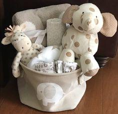 Jumbo Elephant Baby Basket