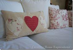 Valentine's pillow to make