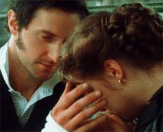 Makes me weak in the knees to see this... Richard as John Thornton and Danielle Denby-Ashe as Margaret Hale in Gaskell's North and South.