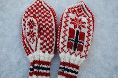 Mittens, Norway, Scandinavian, Birth, Favorite Things, Projects To Try, Flag, Country, Knitting
