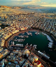 Mikrolimano Marina of Piraeus in Greece Places Around The World, Travel Around The World, Around The Worlds, Best Places To Travel, Places To Visit, Beautiful World, Beautiful Places, Athens Greece, Attica Greece