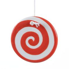 Swirly Twirly Peppermint DIY Christmas Ornament