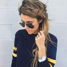 Side braid #thedailylady