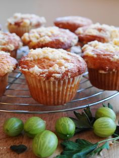 Looking for more elderflower recipes and this one looks tasty:  Tamasin Day Lewis's recipe Gooseberry and Elderflower Muffins