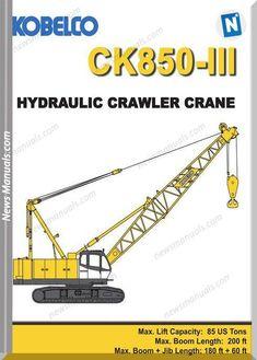 31 Best crawler crane images in 2019 | Crawler crane, Heavy