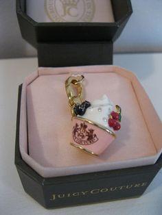 Juicy Couture Charm Ice Cream Dish NIB Authentic | eBay