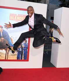 Exibit B: May 21, 2014 | For Almost Two Years Terry Crews Has Been Jumping The Exact Same Way On Every Red Carpet He Attends