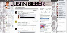 Theme for Facebook - Justin Bieber 4