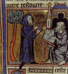 Merlin (illustration from middle ages
