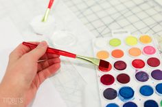 How to Watercolor Paint on Fabric | Tutorial