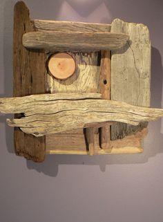 Gift idea Driftwood wall art Driftwood by FlotsamJetsamCrafts