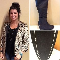 Spice it up with animal print to mix and match with this fall.