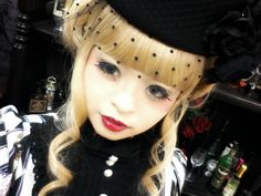 Gorgeous Gothic Lolita Makeup