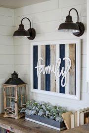 DIY Rustic Home Decorating Ideas (50) #DIYHomeDecorFrames
