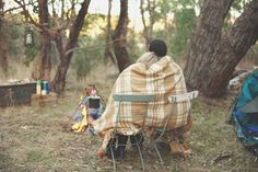 Kendall & Mark's Camping Engagement Photos