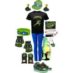Leonardo; Teenage Mutant Ninja Turtles, created by this-is-insanity-at-its-finest on Polyvore