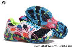 Wholesale Discount Womens Asics Gel Noosa TRI 7 Navy White Glacier Blue Volt Shoes Store