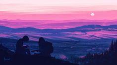 ArtStation - Top of the World, Alena Aenami