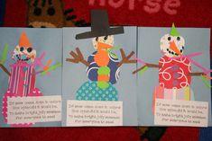 Chalk Talk: A Kindergarten Blog: Rainbow Snowmen