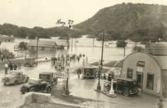 June, 1935. The Junction, The Texas Flood of 1935. Early to mid-June rains approached 20 inches in many other smaller communities from Uvalde to Austin. The Llano, Colorado and Pedernales Rivers all reached flood stage, affecting the cities of Junction, Llano, and Fredericksburg. On June 14 and 15 the Colorado River was just 1 foot below the record reached in July of 1869.