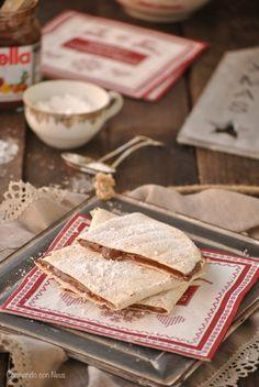 Tortillas de trigo con Nutella